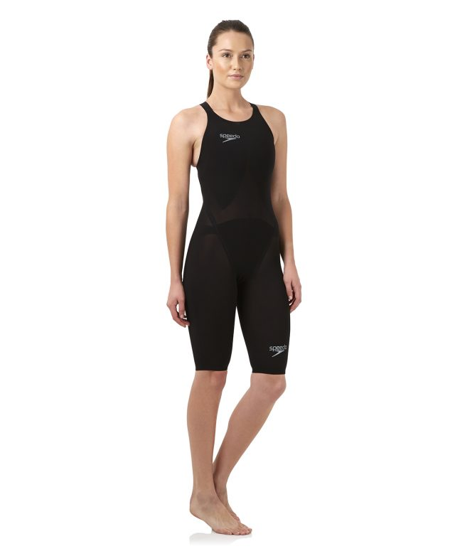 LZR RACER ELITE 2 BLACK OPEN BACK