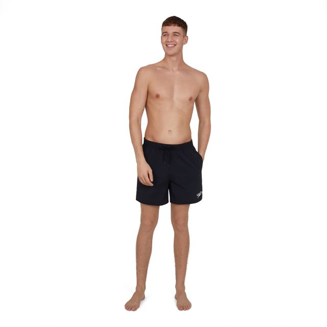 Essentials 16″ Watershort zwart