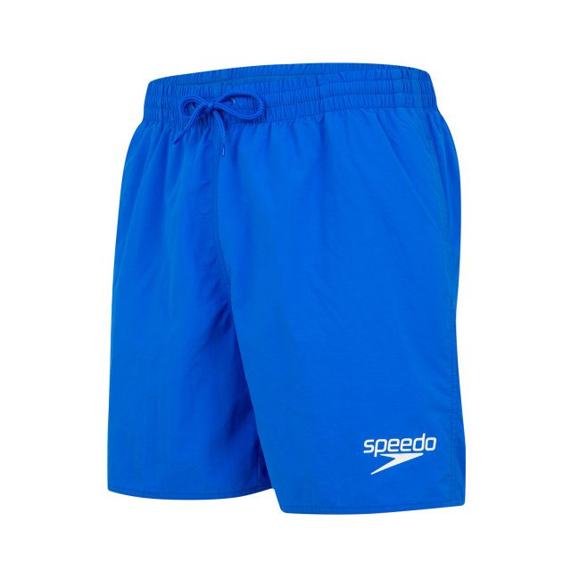 Essentials 16″ Watershort blauw