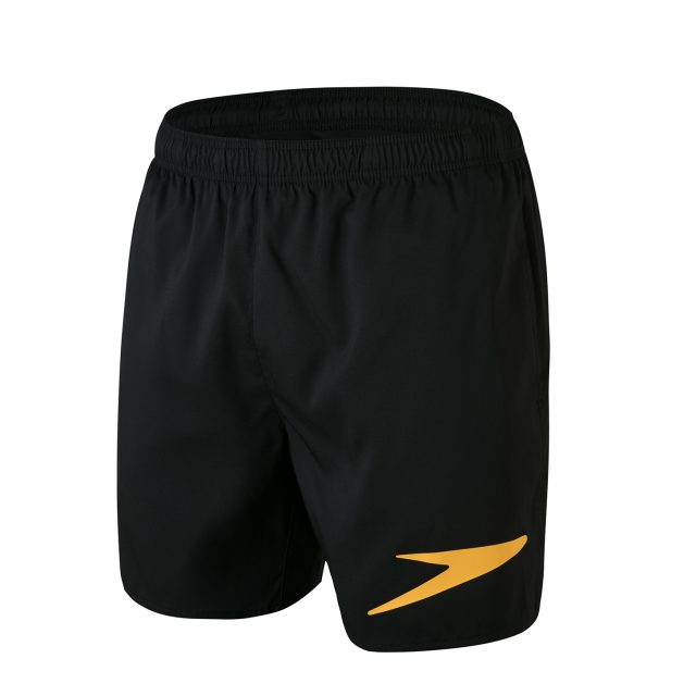 Sport Logo 16″ Watershort black/orange