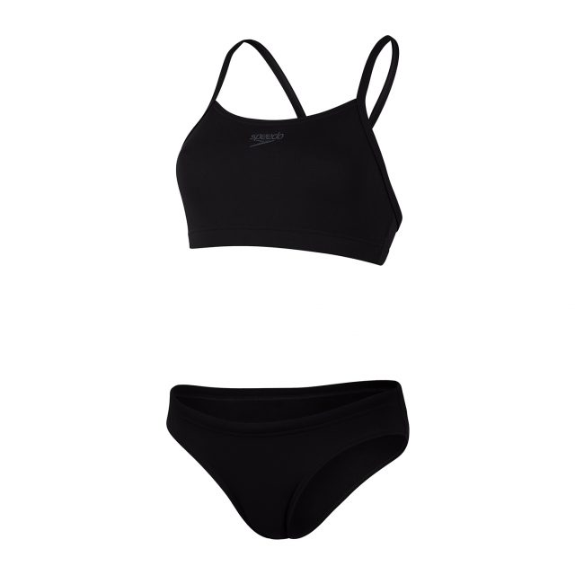 Essential Endurance+ Thinstrap bikini zwart