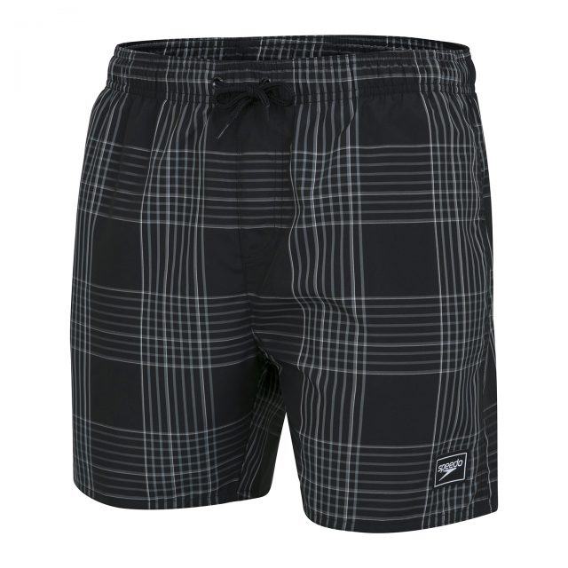 Check Leisure 16″ Watershort black-grey