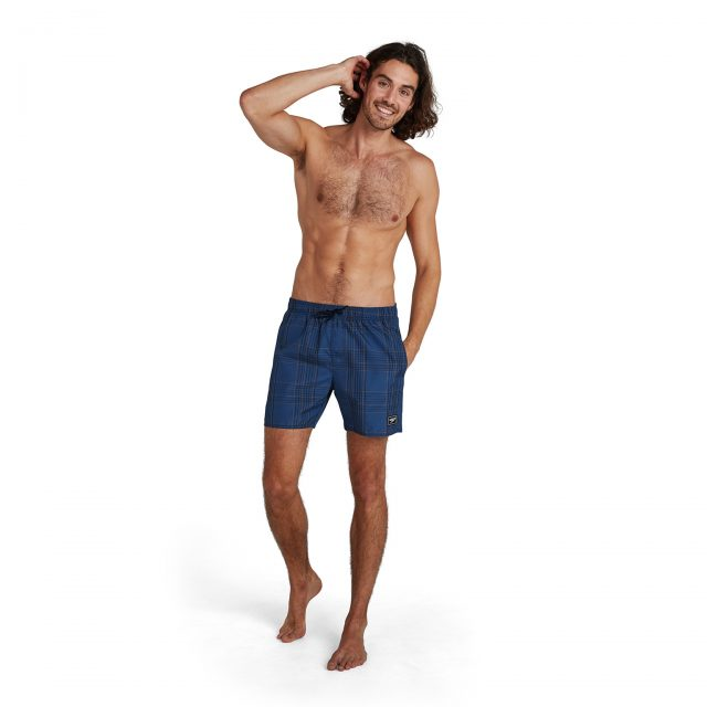 Check Leisure 16″ Watershort navy-black